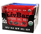 LivBar Energy Health Food Bars – Organic Gluten, Soy, Nut Free Superfood with Whole Protein – Tasty All Natural Snack for Kids and Adults (Berry Nice Variety pack, 12 Count) Review