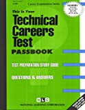Technical Careers Test, Jack Rudman, 0837308046
