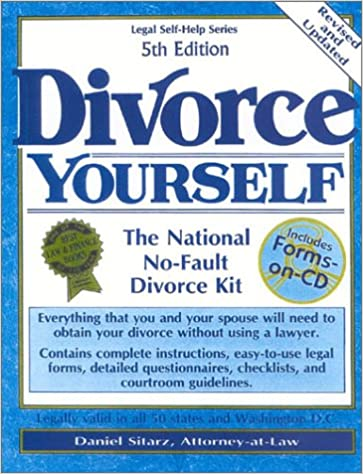 Divorce yourself the national no fault divorce kit with forms on divorce yourself the national no fault divorce kit with forms on cd 5th edition edition solutioingenieria Image collections