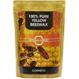 NATURAL APIARY® 100% PURE BEESWAX PELLETS - 1LB COSMETIC Pastilles, DIY Projects, Moisturizer, Lotions, Creams, Lip Balms, Soaps