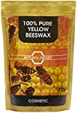 NATURAL APIARY 100% PURE BEESWAX PELLETS - 1LB COSMETIC Pastilles, DIY Projects, Moisturizer, Lotions, Creams, Lip Balms, Soaps