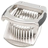 HIC Harold Import Co. 48021 HIC Deluxe Mushroom and Egg Slicer, Stainless Steel Wires, 4.5 x 3.5, 1.5-Inches, Silver