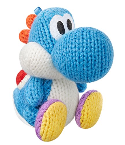 Light Blue Yarn Yoshi amiibo - Japan Import (Yoshi's Woolly World Series)