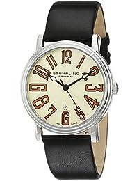 Stuhrling Original Men's 301.331515 Lifestyles Roulette Swiss Quartz Date Silvertone Watch