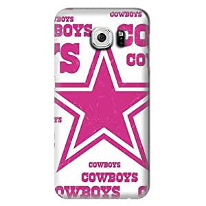 S6 Edge Case,NFL-Dallas Cowboys Samsung Galaxy S6 Hard Case,Fashion Samsung Cell Case
