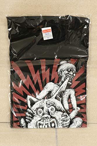 マキシマム ザ ホルモン 耳噛じる真打ツアー Tシャツ 黒 XLサイズ グッズ   B07PXZTVV2
