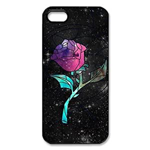 Mystic Zone Beauty and The Beast iPhone 5 Cases for iPhone 5 Cover Classic Cartoon Fits Case WSQ0776