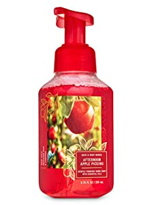 White Barn Candle Company Bath and Body Works Gentle Foaming Hand Soap - 8.75 fl oz - Many Scents! (Afternoon Apple Picking - Apple Pear Cinnamon)