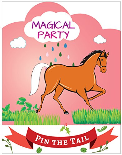 Pin the Tail on the Horse Party Favor