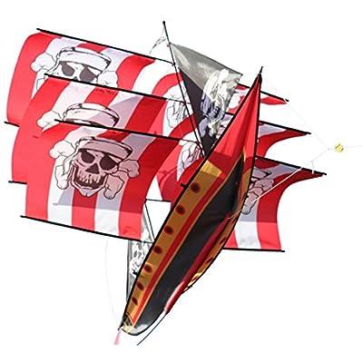 X-Kites 3D Supersize Pirate Ship: Toys & Games