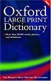 Oxford Large Print Dictionary, , 0198606680