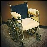 "Sheepskin Ranch Sheep Skin Wheelchair Seat Pad - 18 x 16"" Seat pad - SHP111_ea"