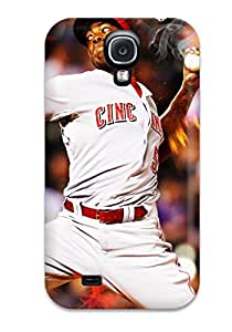 DsWECeZ17099OHZVp Case Cover, Fashionable Galaxy S4 Case - Cincinnati Reds