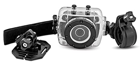 Amazoncom Sharper Image Hd Action Cam Svc400 W Waterproof Case