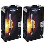 Sanford Brands Uni-Ball 207 Impact Gel Black Pen (Pack of 28) - Paking May Vary