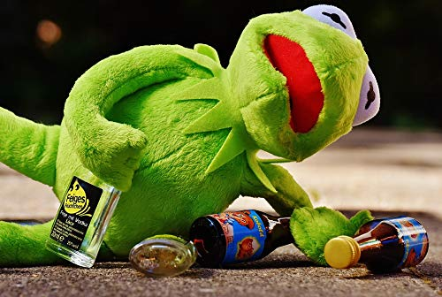 Photography Poster - Kermit, Frog, Drink, Alcohol, Drunk, 24