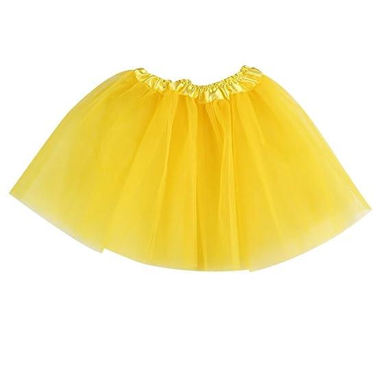 ISSHE Tutu Mujer Faldas de Tul Niñas Falda Tutu Niña Disfraces con ...