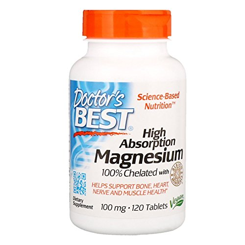 High Absorption Magnesium Doctors Best 120 - Magnesium Absorption Tablets High 240