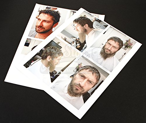Original Movie Prop - 300 - Leonidas Hair and Makeup Test Photo Sheets - Authentic
