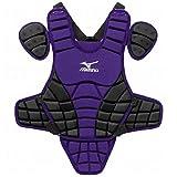 Mizuno Samurai G3 15-Inch Chest Protector (Purple/Black)