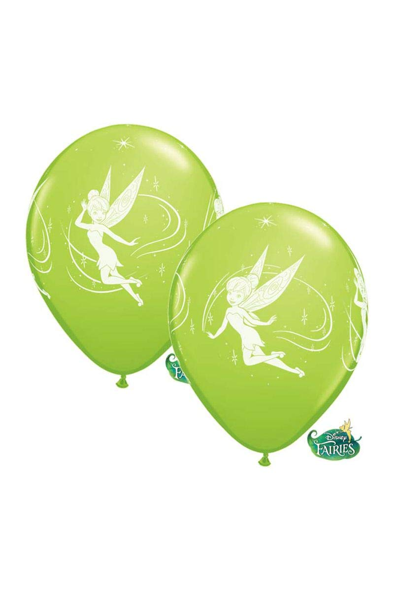 Qualatex 19239 Tinkerbell Balloons, Lime Green, 12-Inch