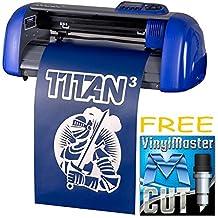 "USCutter Table TITAN 3 - 15"" Craft Vinyl Cutter w/ARMS Contour Cutting + Design & Cut Software"