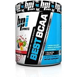 BPI Sports Best BCAA Powder, Fruit Punch, 10.58 Ounce