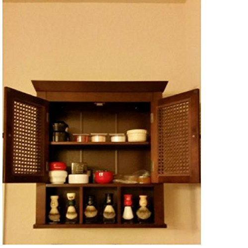 GT Wall Storage Cabinet Classic Livingroom Kitchen Bathro...