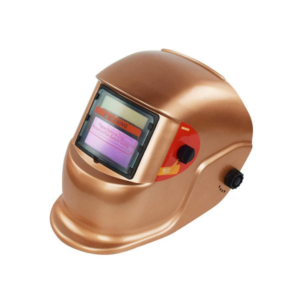 Máscara de soldadura montada en la cabeza Soldadura automática por arco de argón Máquina de soldadura eléctrica Máscara de soldadura Tapa protectora Gafas Protección contra la radiación