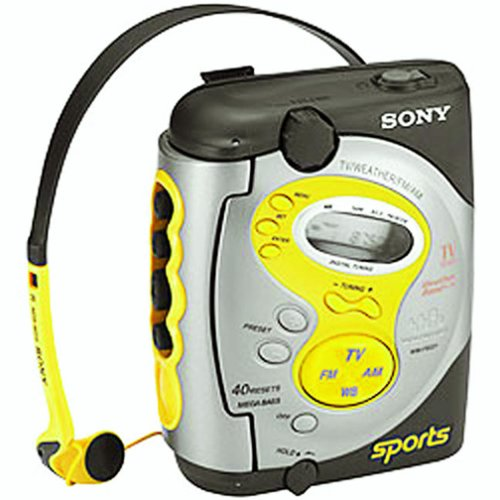 (Sony WM-FS221 Sports Walkman Cassette Player)