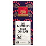 Cheap Endangered Species Grizzly, Natural Dark Chocolate (72%) with Raspberries, 3-Ounce Bars (Pack of 12)