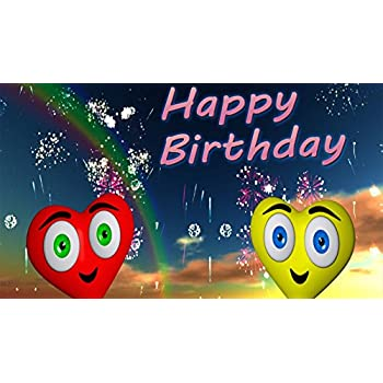 A NEW BIRTHDAY SONG SUPER CUTE ANIMATED MUSIC VIDEO GREETING CARD PERSONALIZED FOR
