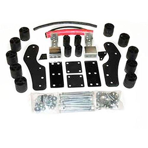Performance Accessories, Toyota Tundra 2WD and 4WD Std/Ext Cab 3″ Body Lift Kit, fits 2000 to 2002, PA5563, Made in America