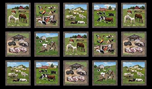 Farm Animals Panel 23