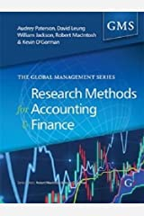Research Methods for Accounting and Finance (Global Management Series)