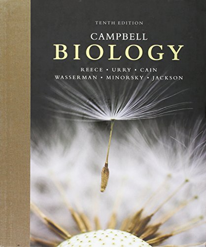 Book cover from Campbell Biology (10th Edition) by Jane B. Reece
