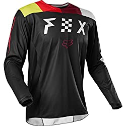 Fox Racing 180 Rodka Se Men's Mx Motorcycle Jerseys - Blacklarge