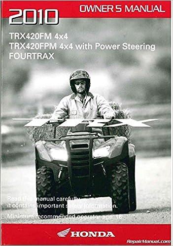 Honda rancher 420 owners manual | 2008 honda rancher 420 4x4.