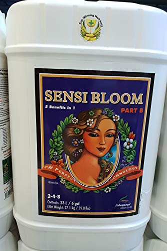 (Advanced Nutrients pH Perfect Sensi Bloom Part B Plant Nutrient, 23 L)