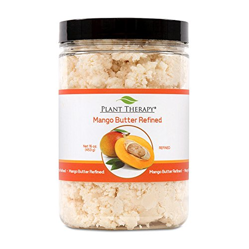 Plant Therapy Mango Butter Refined. Ideal for Lotions, Creams, Balms and Soaps. 16 oz.