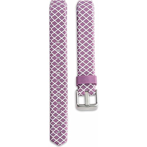 Onn ONB16WA044 Replacement Band w/ Metal Buckle for FitbitAlta - Pink Crisscross
