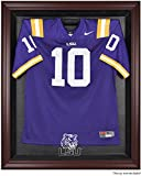 LSU Tigers Mahogany Framed Logo Jersey Display Case