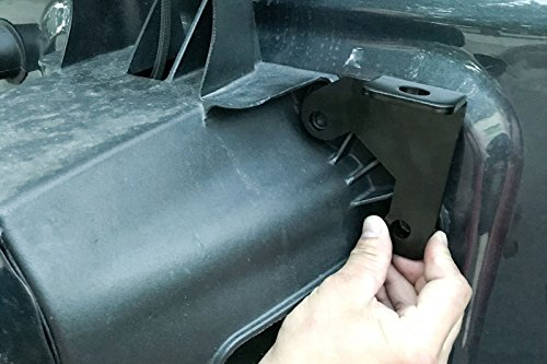 DIYTUNINGS Tailgate Car CB Antenna Bracket Mount For 2007-2017 Jeep Wrangler Jk 2/4 Door Car Antenna Frame Jeep Exterior Accessories by DIYTUNINGS (Image #7)