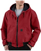 Men's Carhartt Mesh - lined Sandstone Duck Active Jacket