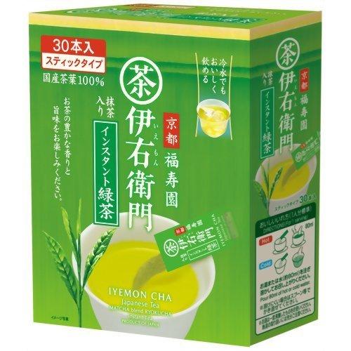 IYENON Green Tea, Instant Green Tea 0.8 g x 30 Nihoncha by IYEMON