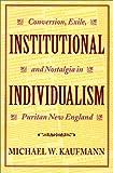 Institutional Individualism 9780819563507