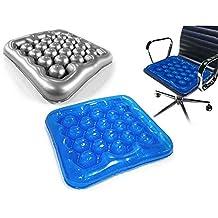 (Blue color) Air Water Inflatable Wheelchair Driver Car Cushion Office Driver Seat Cushion