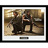 GB eye Ltd Walking Dead Framed Print 30x40cm Negan Stairs 52 x 44 x 3 cm Wood Various