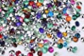 10000pcs/pack 4.5mm Bottom Silvered Acrylic Gems, Acrylic Crystal Diamonds Confetti Beads for Wedding Table Scatter, Bridal Shower, Vase fillers, Vase Beads Decorations