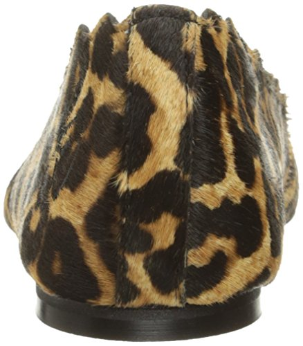 Sam Edelman Womens Francesco Balletto Marrone Piatto / Leopardo Nero